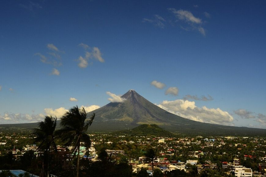 vulcano Mayon Filippine
